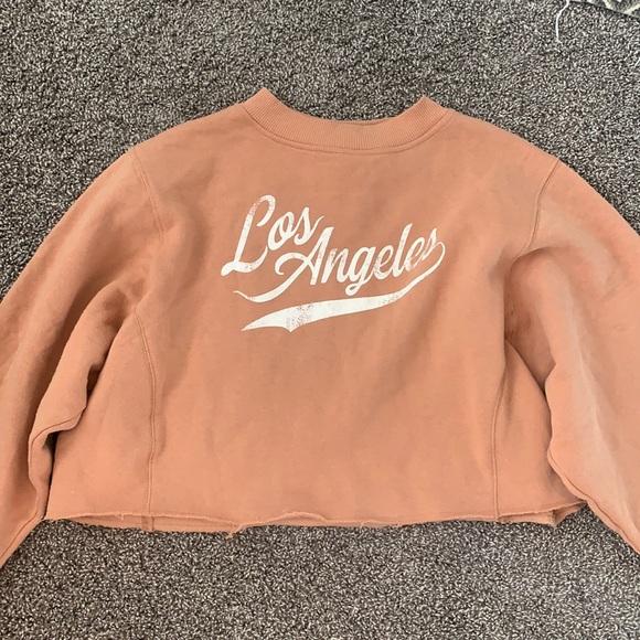 Adorable cropped sweatshirt